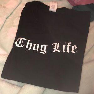 Thug life cotton shirt